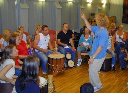 Mikael Khei Maguti Trommegruppe